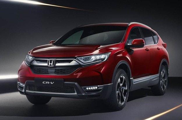 Новая Honda CR-V с отличным рейтингом Euro NCAP