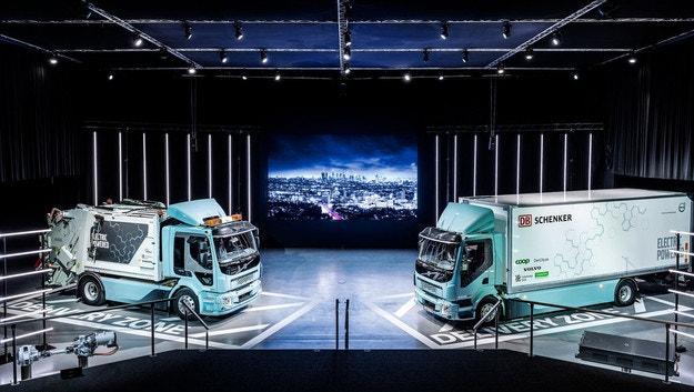 Volvo Trucks, первая продажа электрических грузовиков