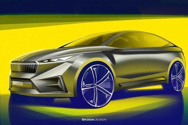 Skoda покажет новый кроссовер-купе в Женеве