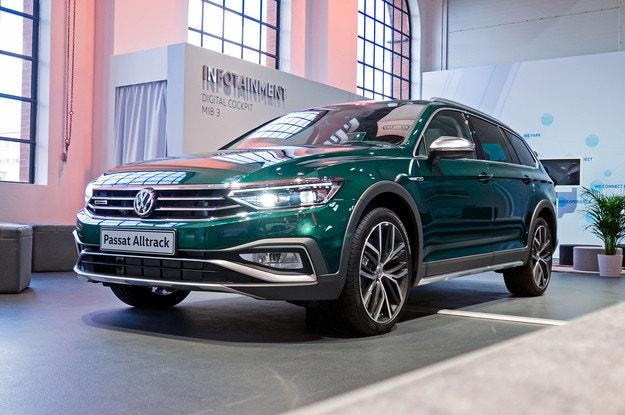 Volkswagen обновил семейство Passat