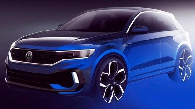Volkswagen показал дизайн сверхмощного T-Roc