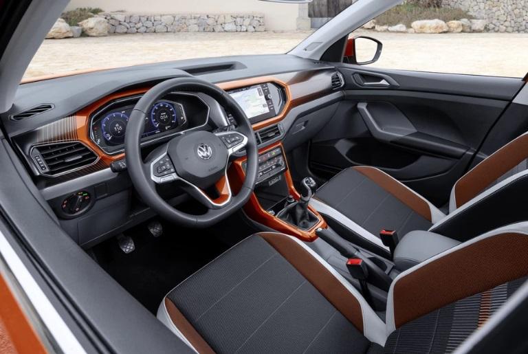 Volkswagen T-Cross - хорошо продуманный кроссовер