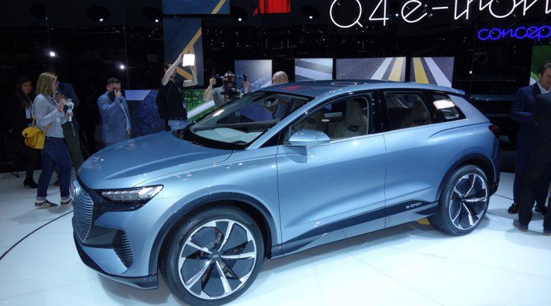 Женева 2019. Концепт Audi Q4 e-tron - электрический внедорожник
