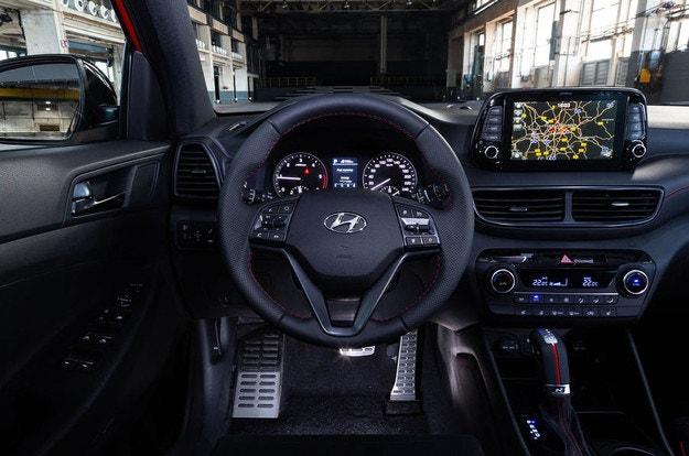 Hyundai представила спортивный Tucson N Line