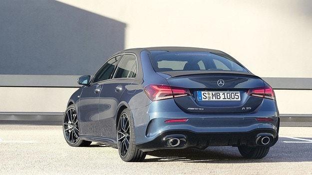 Mercedes-Benz представил седан AMG A35