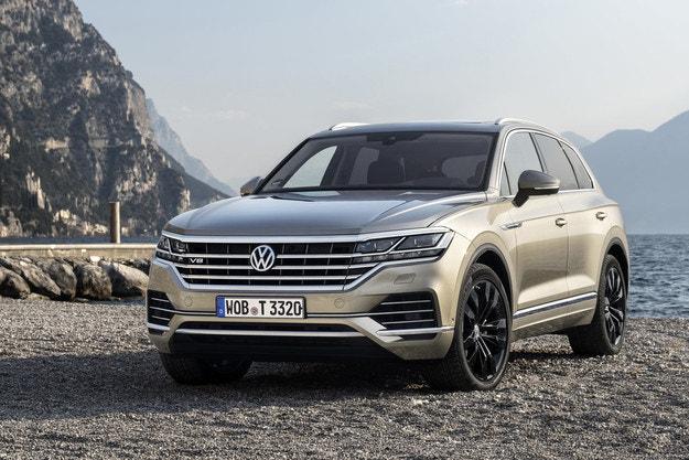 Мировая премьера нового VW Touareg V8 TD