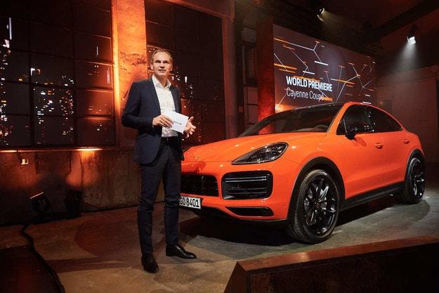 Премьера нового Porsche Cayenne Coupe