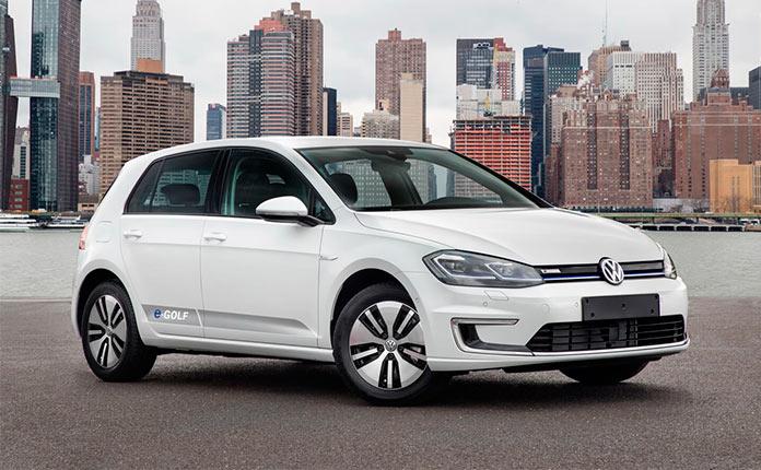 Nissan Leaf против VW e-Golf