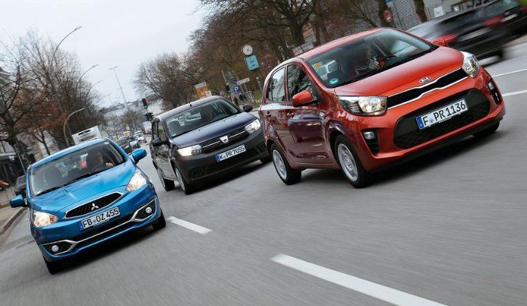 Dacia Sandero против Mitsubishi Space Star и Kia Picanto - сравниваем самые дешевые новые автомобили