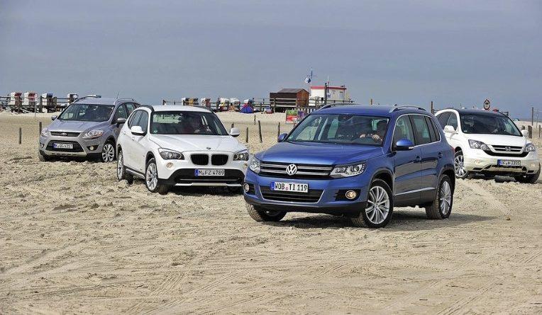 BMW X1 против Ford Kuga, Honda CR-V и VW Tiguan - хороший внедорожник с хорошим дизелем