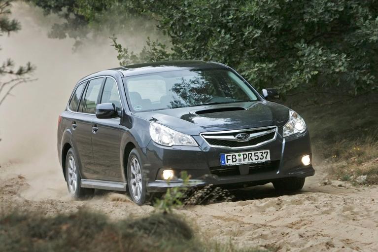 Subaru Legacy V Estate - производство 2009-14 годы