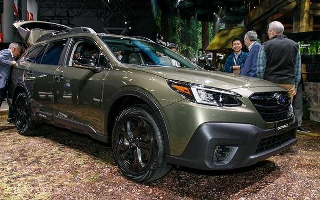 Новое поколение Subaru Outback