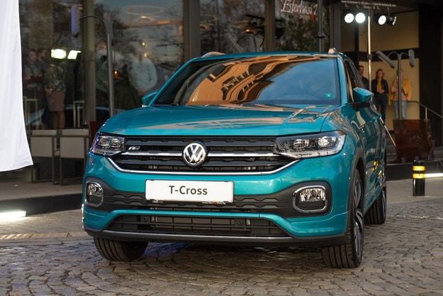 Volkswagen T-Cross - новые стандарты в своем классе