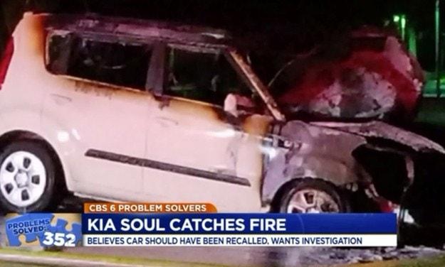Расследование пожаров в автомобилях Hyundai и KIA