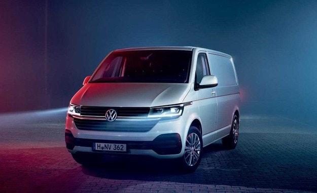Volkswagen обновил универсал Transporter