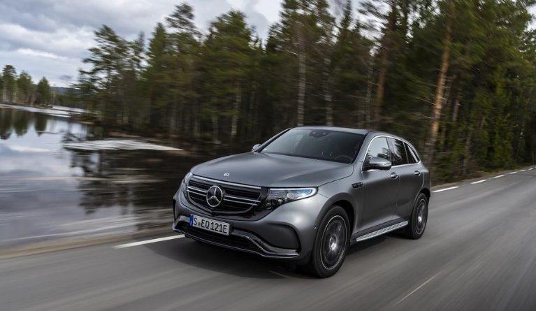 Mercedes EQC - Mercedes среди электромобилей