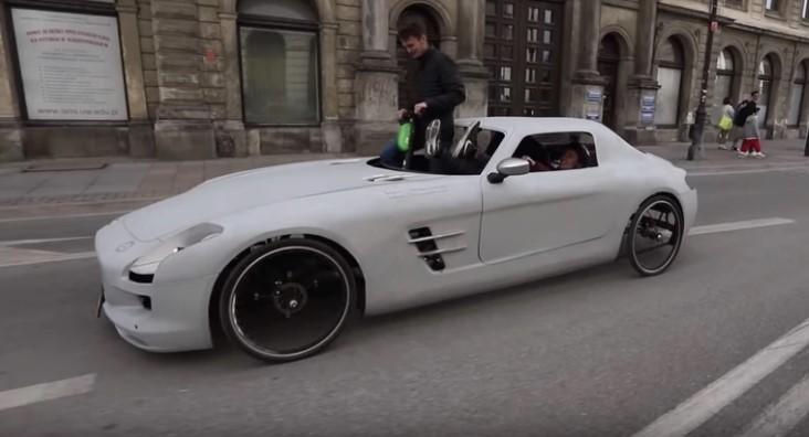 Mercedes SLS на педалях: что это за транспортное средство и разрешено ли на этом ездить?
