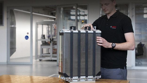 Bosch будет производить топливные элементы