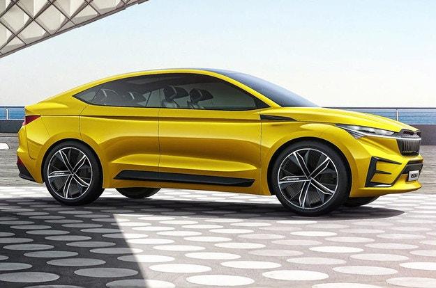 У электромобилей Skoda будет свой дизайн