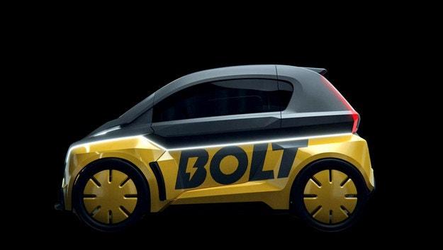 Микро автомобиль Bolt Nano дебютировал в Париже