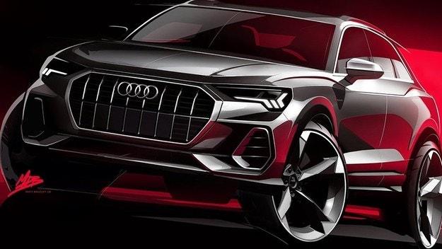 Audi представит новый кроссовер под названием Q3 Sportback