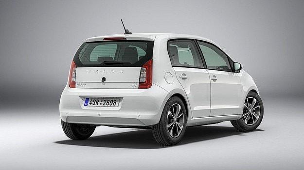 Skoda показала электромобиль серии Citigo-e iV