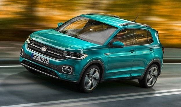 VW готовит кроссовер T-Sport на базе Polo