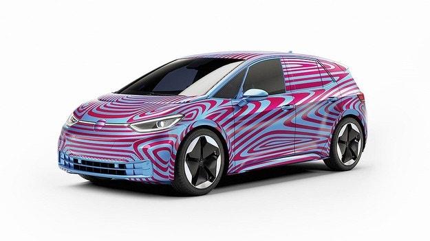 VW принимает заказы на электрические ID.3