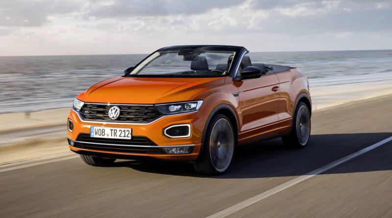 Volkswagen тестирует кросс-кабриолет T-Roc