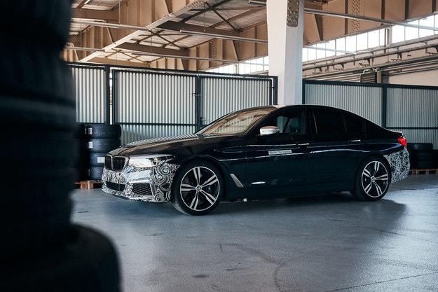 BMW превратил Series 5 в электромобиль