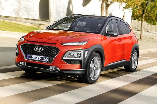 Кроссовер Hyundai Kona стал гибридом