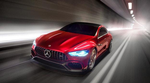 Mercedes-AMG GT4-Door получит 800 л.с.