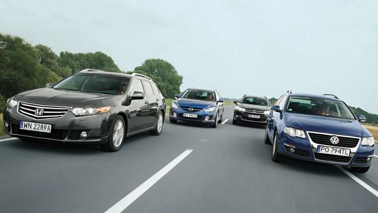 Citroën C5, Honda Accord, Mazda 6 или, возможно, Volkswagen Passat - какой 10-летний универсал является лучшим?